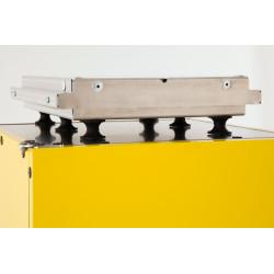 GI METAL - Plaque de fixation pour caisse de livraison