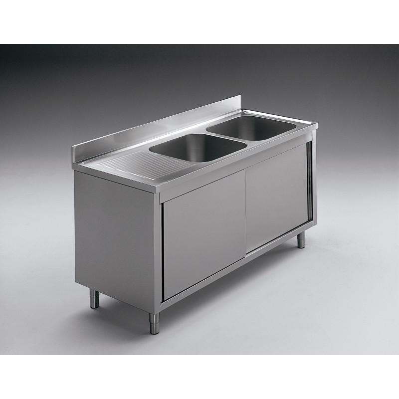 GEMM - Plonge sur pied ouverte 1 vasque 50x50x30h - 100x70x85h