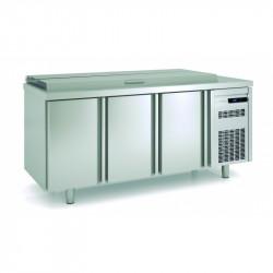Saladette meuble de préparation pour 21 bacs 1/6 - CORECO